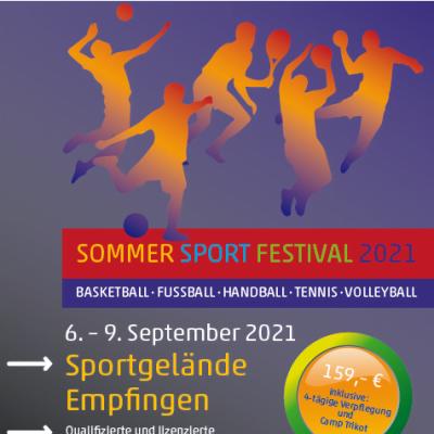 Das Sommer Sport Festival 2021 wirft seine Schatten voraus